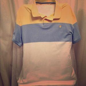 Izod Men's Short Sleeve Polo Shirt. NWOT. XL